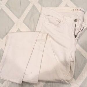 J Brand Skinny Leg White jeans